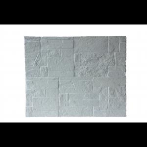 Plaqu. Mur. Ext. Blanc Calcaire / Blanc Cristal