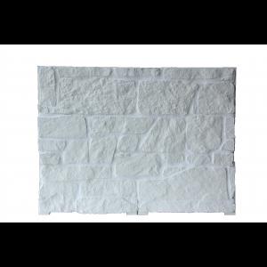 Plaqu. Mur. Ext. Royale Blanc Calcaire / Blanc Cristal