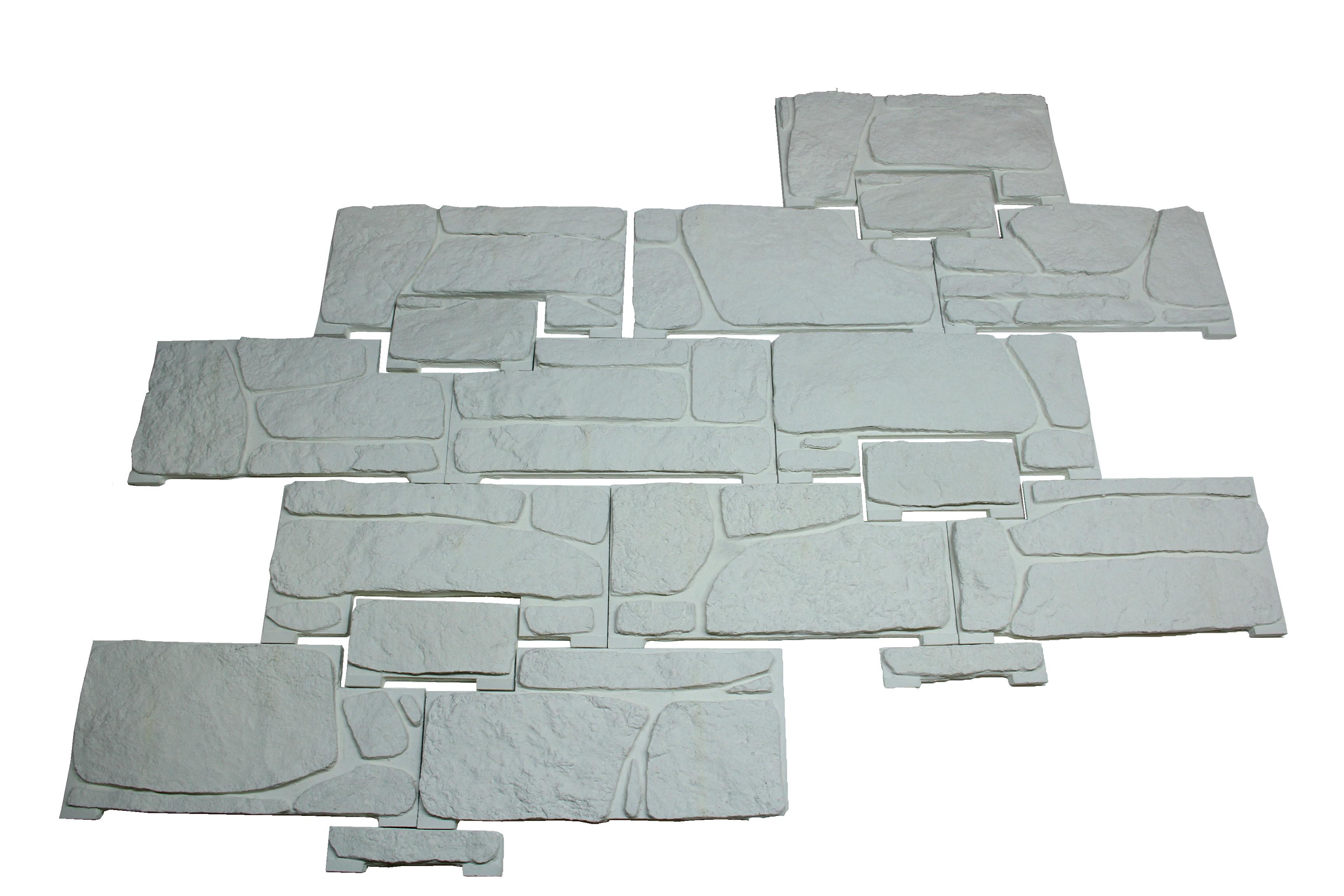 Plaquette murale ext royale blanc calcaire - Calcaire piscine vinaigre blanc ...